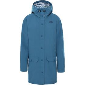 The North Face Liberty Woodmont Regenjas Dames, mallard blue